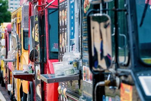 food-truck camion de pizza décoration az créations